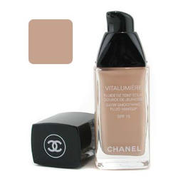 Тональный крем Chanel -  Vitalumiere Satin Smoothing Fluid Makeup №25 Petale